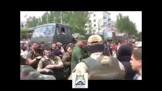 Батальон 'Восток' приветствует Донецк Славянск,Волноваха,Лисичанск,Рубежное,Украин
