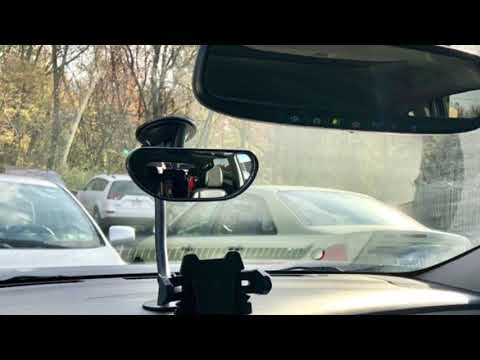 Baby Rear View Backseat Suction Cup Car Mirror