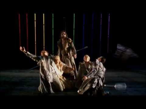 Wagner: Das Rheingold, scenes 3/4, Barenboim/Kupfer, french subs.