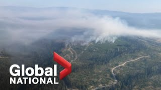 Global National: July 31, 2021 | More heatwave hazards and wildfires swamp Western Canada