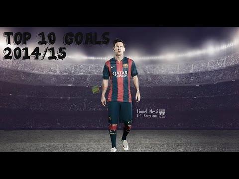 Lionel Messi - Top 10 Goals 2014/15 ● HD