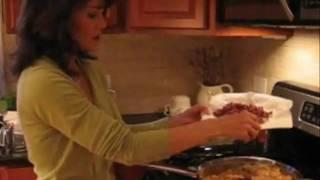 Pepper-Rice Sauté with Bacon & Cheese.wmv