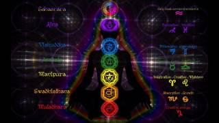 7 Chakra Meditation Balancing & Healing, Root To Crown, Binaural Beat Session HD 720p