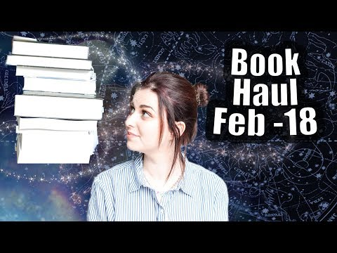 BOOK HAUL & PO BOX - February 2018 | Book Roast