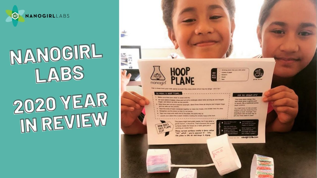 Nanogirl Labs Year In Review 2020