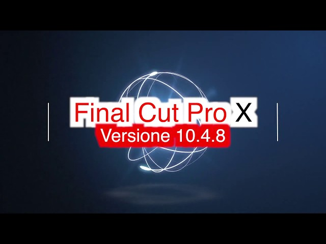 FCPX104 -L02EX - PRIMI PASSI IN FINAL CUT PRO X 10.4