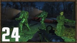 Fallout 4 PC Gameplay Part 24 - The Lost Patrol; National Guard