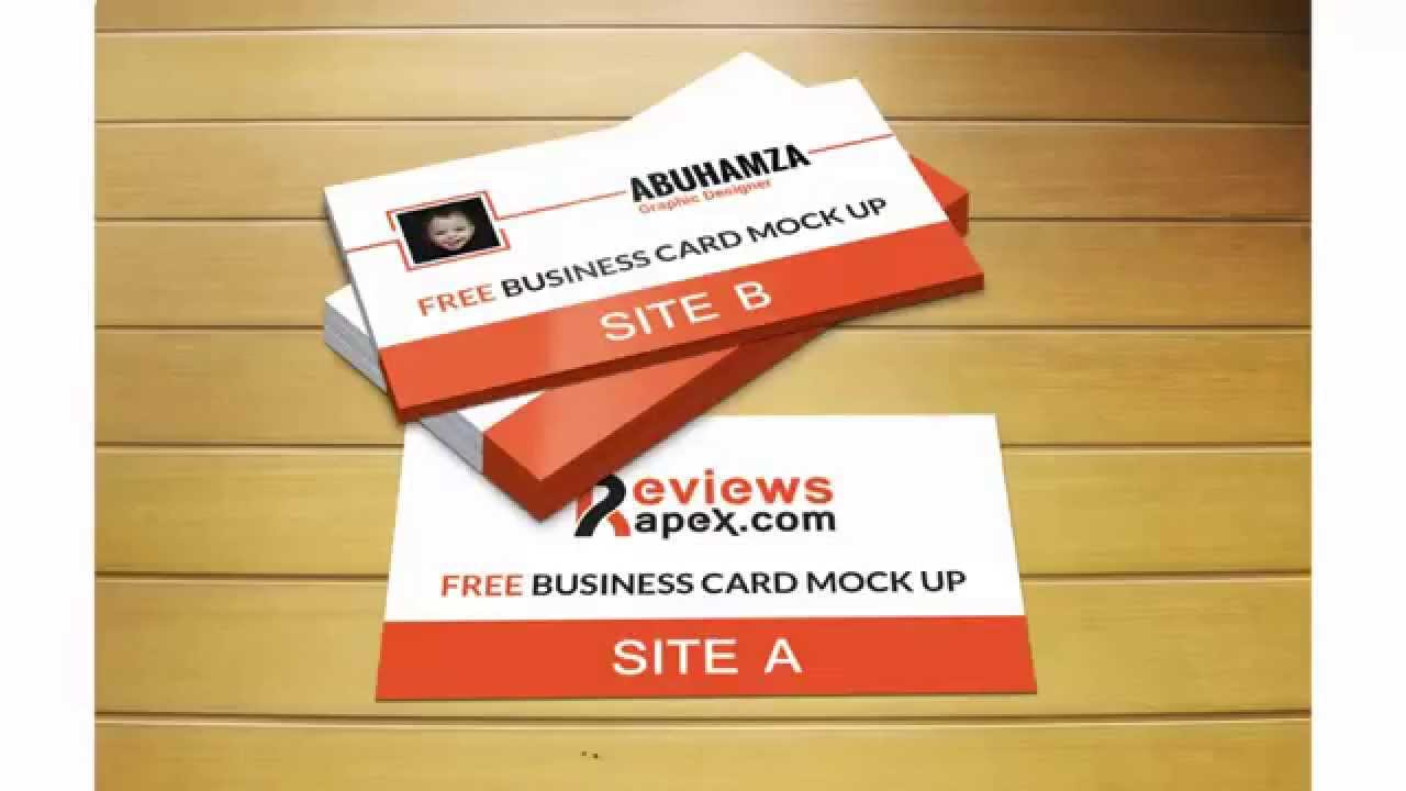 Free download photorealistic business card mockup template youtube free download photorealistic business card mockup template reheart Image collections