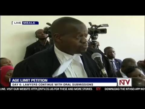 AGE LIMIT PETITIONS | CONSTITUTIONAL COURT HEARING IN MBALE