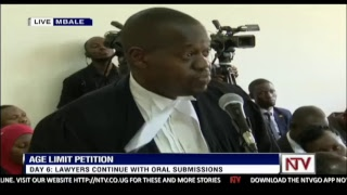 DAY 6: AGE LIMIT PETITIONS   CONSTITUTIONAL COURT HEARING IN MBALE