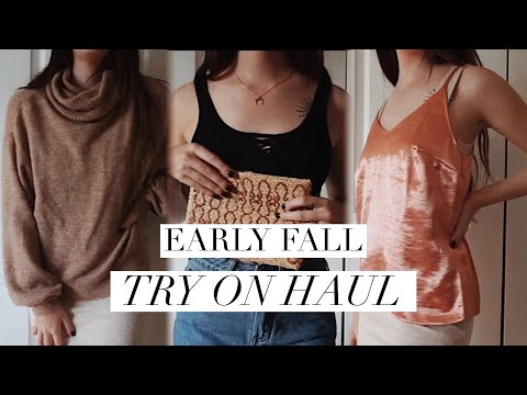 Early Fall Try On Haul thumbnail
