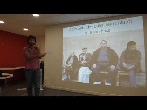 Lancement d'API.gouv.fr par Thibaut Gery