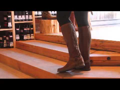 hqdefault frye phillip harness studded in cognac youtube