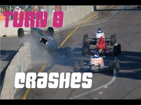 Adelaide Turn 8 Crash Compilation