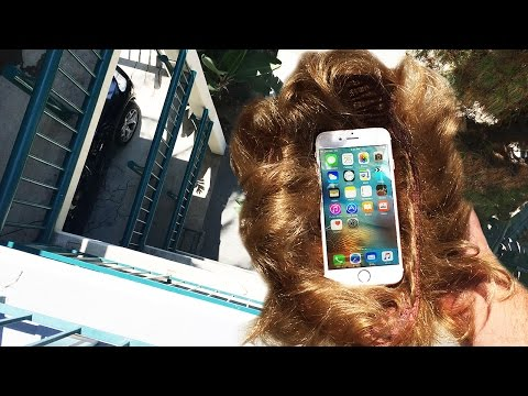 Can Donald Trumps Hair Protect iPhone 6s from Extreme 50 FT Drop Test?