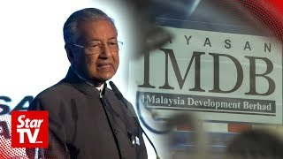 Dr M: Pakatan govt spent most of first year tackling 'bottomless pit' of 1MDB issues