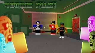 Let's Play Roblox Episode 37: Zombie Rush