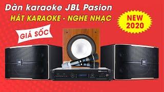 Dàn Karaoke Gia Đình Cao Cấp - Loa JBL Pasion 12 | Khuyến Mãi Giảm Giá, Cực Sâu