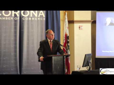 Corona Chamber of Commerce Economic Forecast Senator Richard Roth