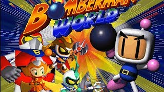 PSX Bomberman World