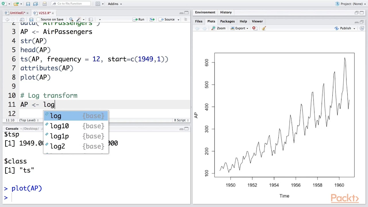 Classifying and Clustering Data with R : Time Series Decomposition with R |  packtpub com