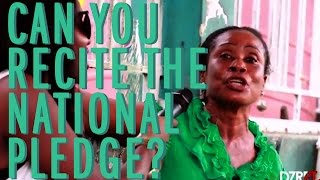 Nigerians Recite The National Pledge