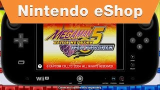 Mega Man Battle Network 5 on the Nintendo eShop
