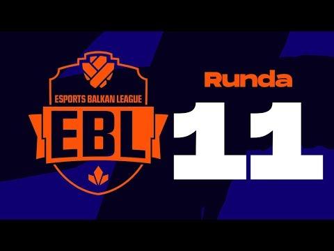 EBL LoL 2019 Runda 11 - CZV vs ASUS w/ Sa1na, Mićko i Đorđe Đurđev