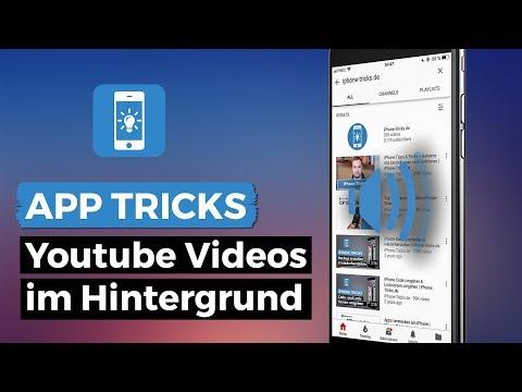 YouTube Videos im Hintergrund laufen lassen am iPhone