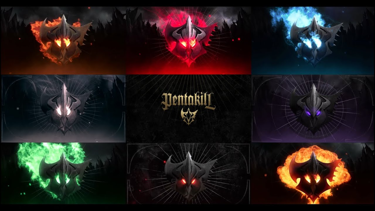 "Álbum Completo - Pentakill ""Smite and Ignite"" - League of Legends -"