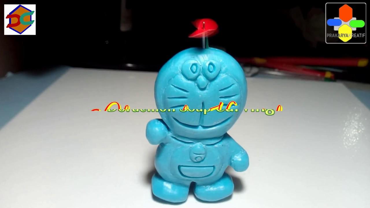 Soap Carving Doraemon Diy Easy Tutorial Ukiran Sabun Youtube