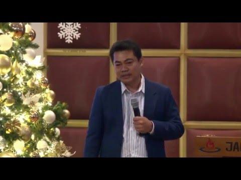 """""""Bangkit & Bersinarlah"""", Ps. Gunawan Stefanus Tanggal  10 Jan. 2016"""
