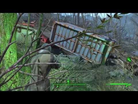 Fallout 4_WTF  Dragon uppercut on a death claw