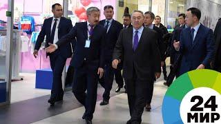 Назарбаев оценил строительство жилья и новый ТРЦ в Костанае - МИР 24