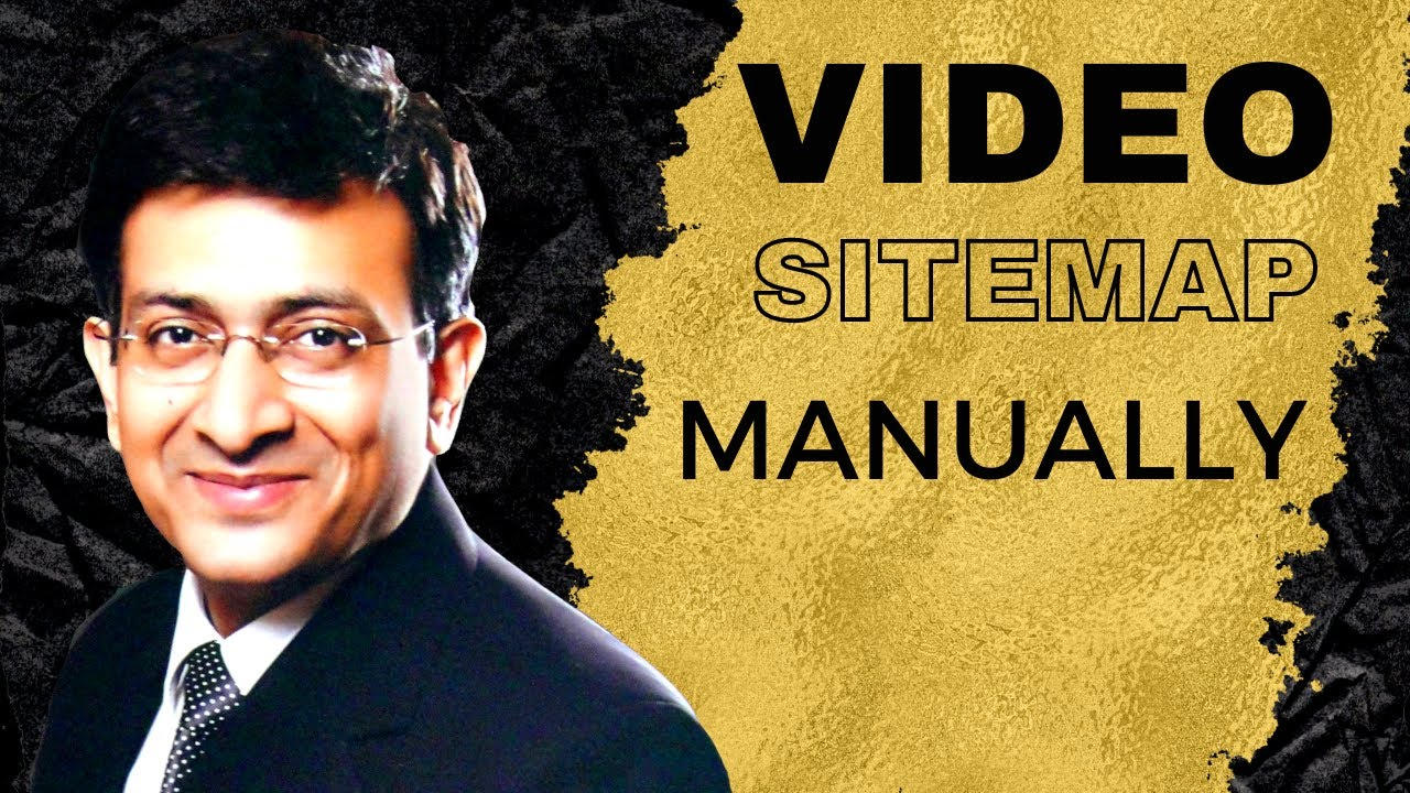 Download VIDEO Sitemap - Create Manually In 10 Minutes  Without Plugin