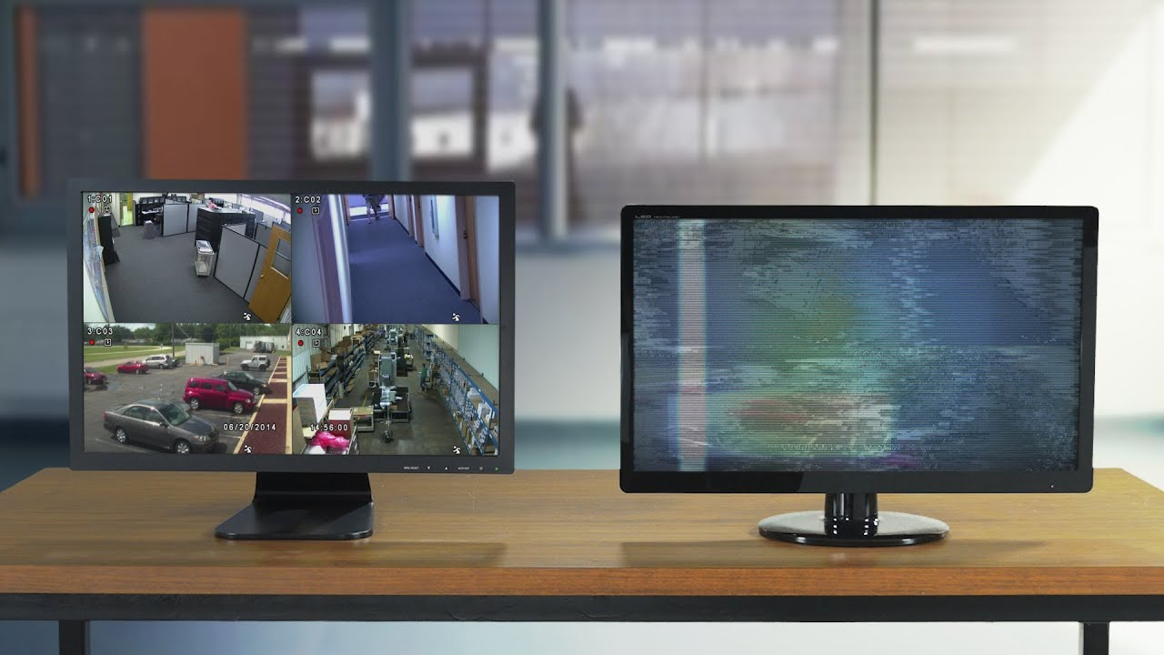 Cara Menggunakan Monitor Komputer untuk CCTV