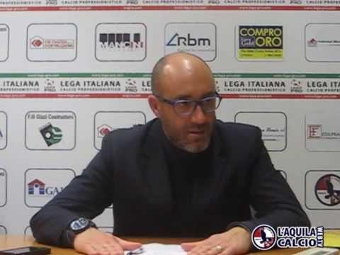 16/02/2015 - Conferena Stampa post San Marino - L'Aquila di Mister Zavettieri