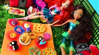 Make Doll Food With Toilet Paper- Doll Crafts