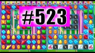 Candy Crush Soda Saga Level 523 NEW | Complete!