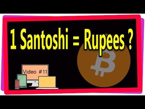 011. Bitcoin Calculator 1 Rupee = ? Santoshi / Bits / Bitcoin In Telugu By COMPUTER Generation