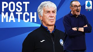Juventus 2-2 Atalanta | Sarri and Gasperini Post Match Press Conference | Serie A TIM