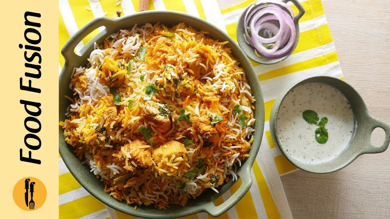 Butter Chicken Biryani Recipe By Food Fusion