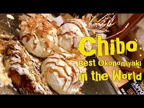 Best Okonomiyaki in the World: Chibo Okonomiyaki S Maison Manila Philippines