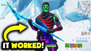 I Became a Real RAINBOW Skull Trooper In Fortnite
