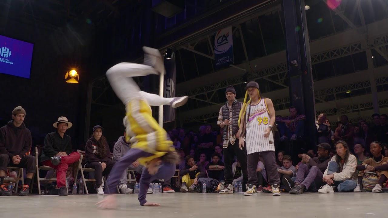 1/4 finale BONNIE & CLYDE : AMI & KATSU (JAP) VS VANESSA & KARAM (POR/GBR)