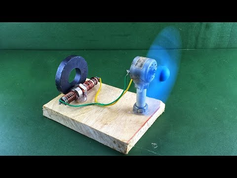 Experiment Free Energy Generator With Dc Motor & Magnet For Ideas Creative 2019