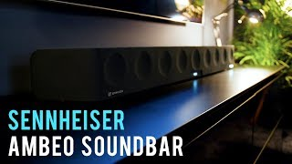 Sennheiser Ambeo Soundbar overview @ IFA 2018