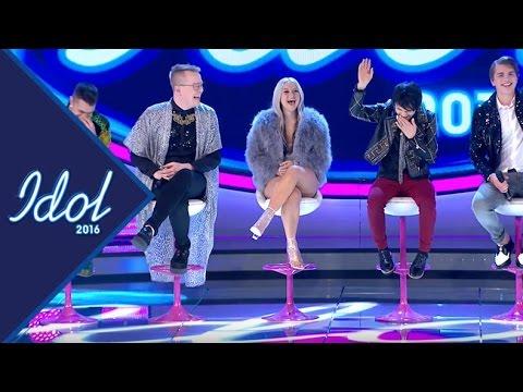 Heta frågor med Idolerna - Idol Sverige TV4