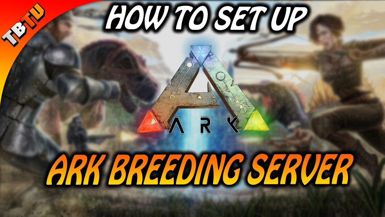 HOW TO SET UP AN Ark Survival Evolved Server With GPortal! Ark Breeding  Server Settings
