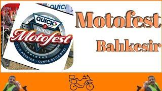 Motosiklet festivali - Balıkesir Motofest / Cunda - 2019 #Vstrom